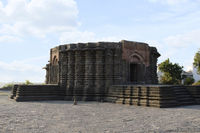 Daitya Sudan temple side view, Lonar, Buldhana District, Maharashtra, India