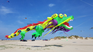 Drachen, Festival, Figuren, Modelle, Insel, Roemoe