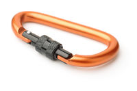 Heavy duty metal carabiner
