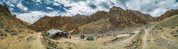 Campsite in Markha valley in Ladakh