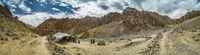 Campsite in Markha valley in Ladakh