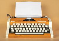 Old typewriter. 1980 release.