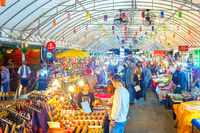 Tourists Thailand asian night market