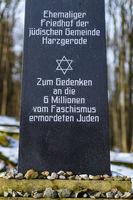 Friedhof der jüdische Gemeinde Harzgerode