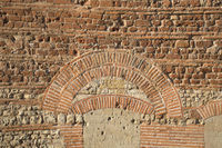 Trier - Trier Cathedral, Roman brick wall, Germany