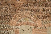 Trier - Trierer Dom, römische Ziegelwand, Deutschland
