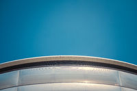 Abstract Curved Architecture Detail