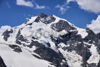 Piz Bernina in.der Schweiz
