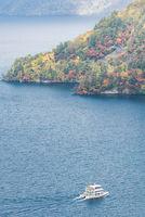 Lake Towada Aerial