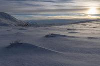 Evening mood, Soeroeya Island, Finnmark, Norway