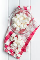 Sweet sugar cubes.