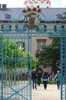 Gate entrance with Coat of arms Castle Homburg