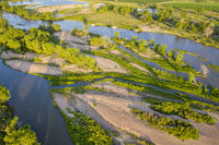 South Platte River aerial view