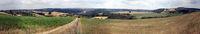 Eiffel landscape near Mechernich between Lorbach and Bergheim