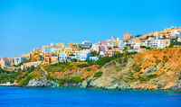 Ermoupoli town in Syra Island