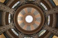 San Francisco, California - June 5, 2018: Interior of San Francisco Columbarium Dome.