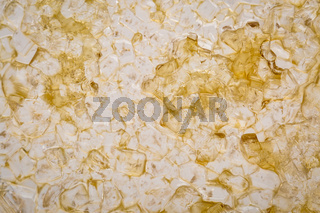 abstract background of dried maple syrup