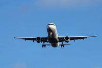 incoming aircraft