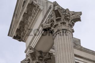Säulenkrone, Hafentempel, Xanten
