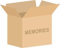 Open Memory Box Vector