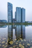 Waldorf Astoria hotel and Yintai buildings in Chengdu