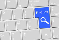find job enter button