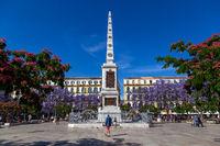 Plaza de la Merced in Malaga