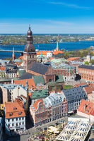 St Peter's Church view, Riga, Latvia