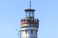 Lighthouse, platform with a view, harbor entrance Lindau island