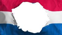 Broken Missouri state flag