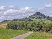 Hohenkarpfen near Hausen ob Verena, Nature reserve of the Baar plateau