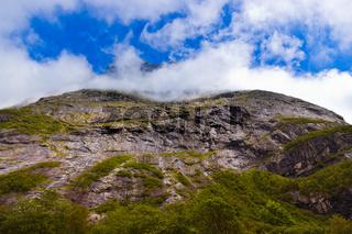 Rock near Trollstigen - Norway