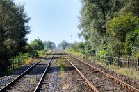 Railway Beinheim Alsace France
