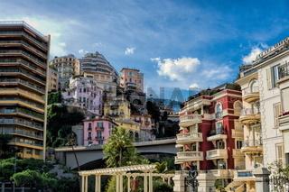 Monaco, Häusermeer