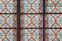 stained glass windows of Notre-Dame de Paris
