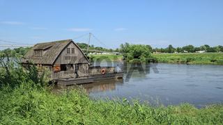 Minden - Schiffmühle auf der Weser, Deutschland
