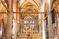 Basilica Santa Maria gloriosa dei Frari in Venice