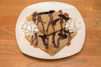 Sweet Chocolate Crepes
