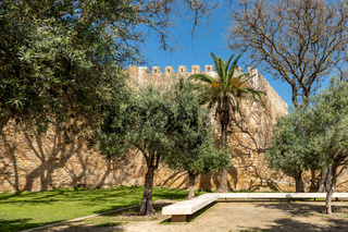 Garden near the Governors Castle