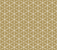 Seamless traditional Japanese ornament.Golden color background.White lines.