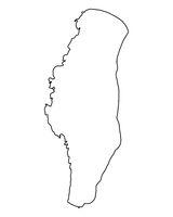 Karte des Lake Winnebago - Map of Lake Winnebago