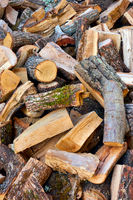 Firewood -  Heap of logs