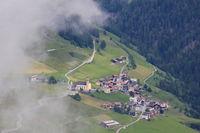 Zorten, village in the Canton of Grisons, Switzerland.
