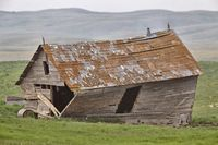 Abandoned Prairie Homestead