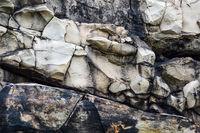 Sandstein an der Teufelsmauer in Weddersleben