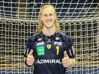 Torwart Mikael Appelgren (Rhein-Neckar Löwen) DKB Handball Bundesliga Saison 2018/2019