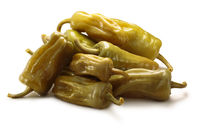 Pickled greek pepperoncini friggitelli, paths