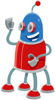 robot cartoon funny fantasy character