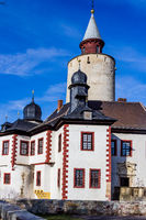 Castle Posterstein in Thuringia Germany