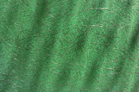 Green abstract plastic with fiberglass
